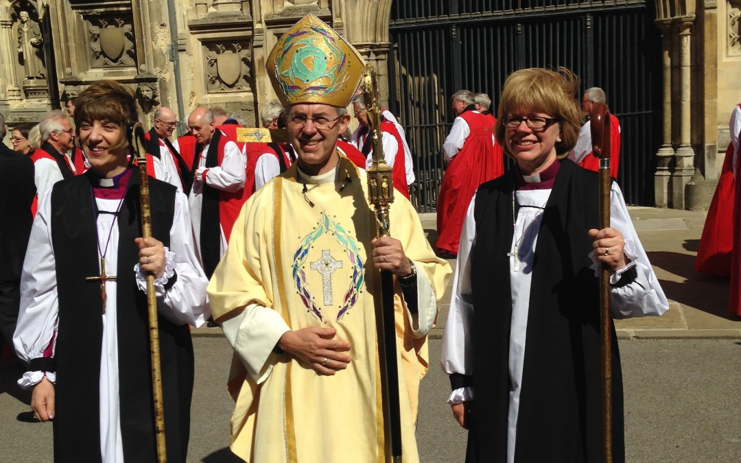 Devon's first woman bishop consecrated in Canterbury Cathedral