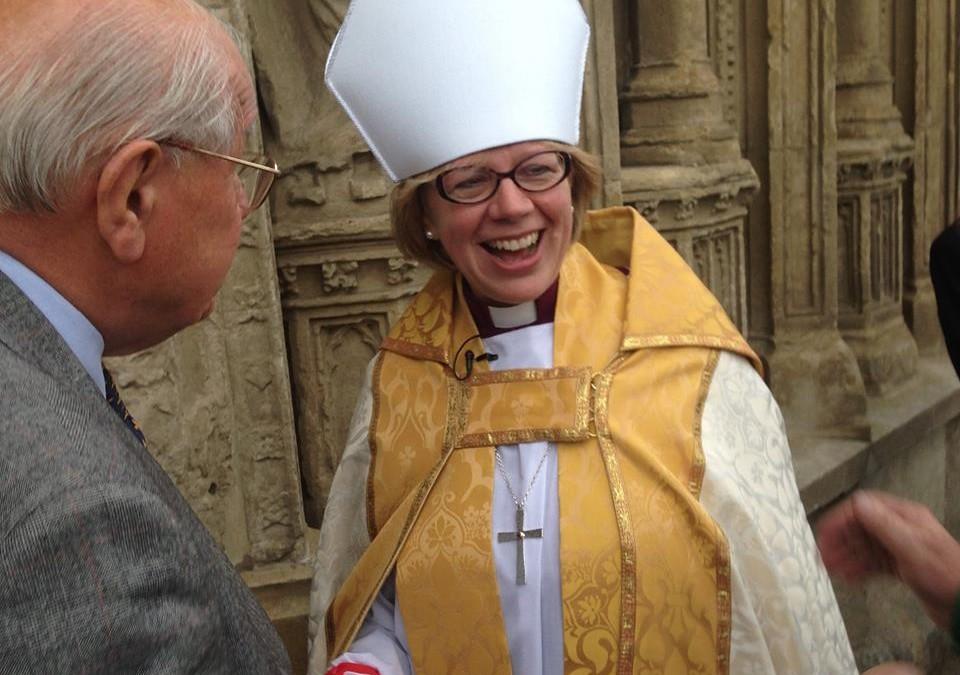 Bishop Sarah to be installed as Bishop of London