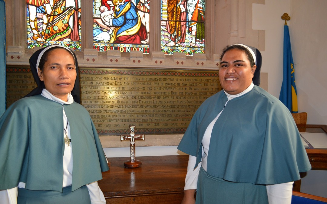 Solomon Sisters visit our diocese