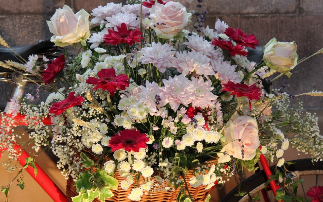 Crediton Parish Church Annual Exhibition with Flowers