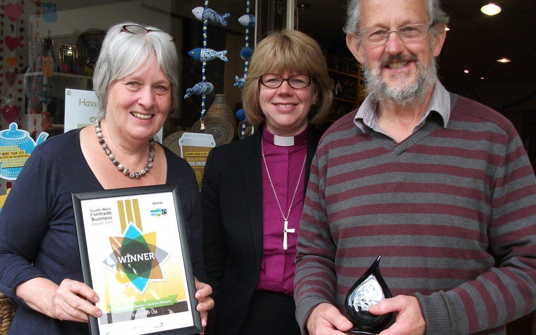 Fairtrade shop wins award
