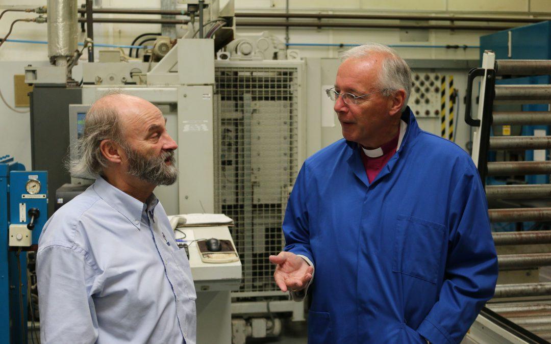 Bishop Nick visits Cadbury Deanery