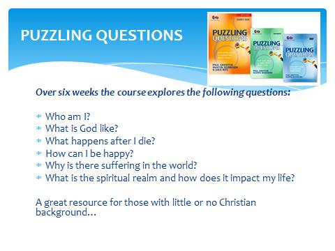 puzzling questions - Diocese of Exeter