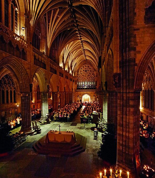 A Christmas message from Bishop Robert preached in Exeter Cathedral