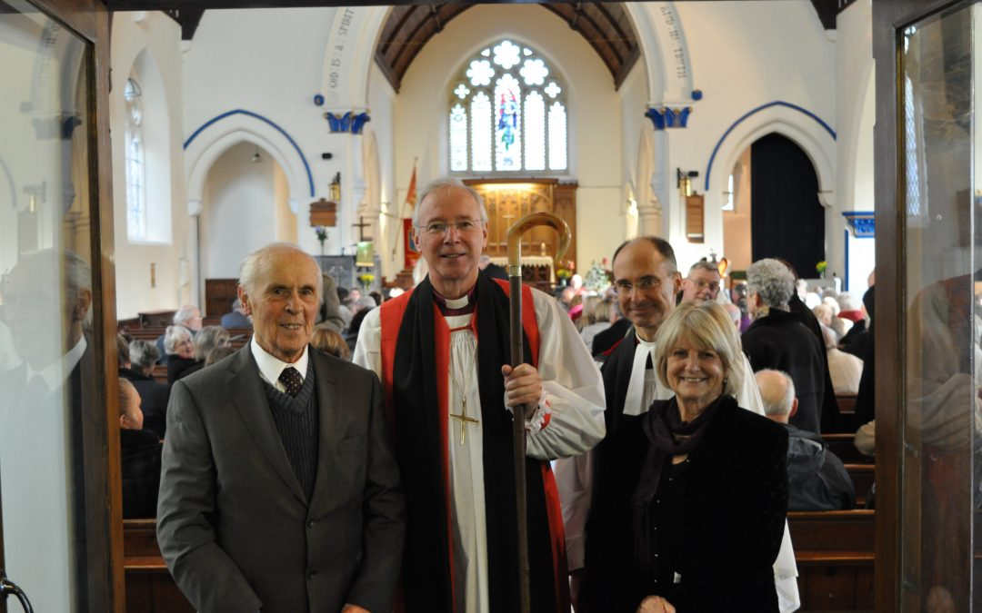 Ellacombe Church handed over to the school in a special service