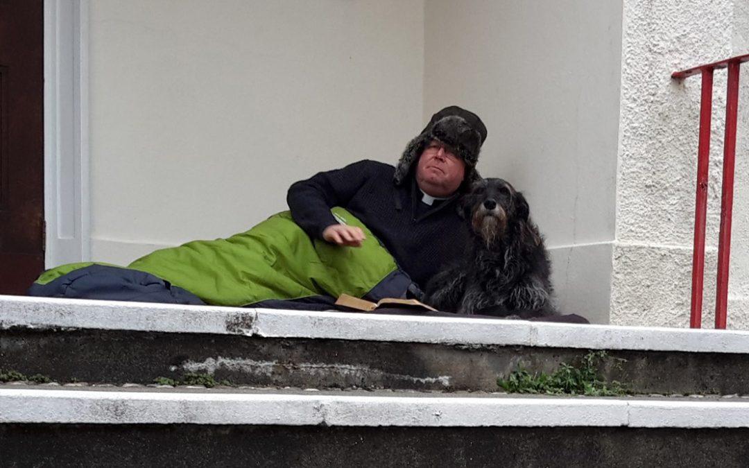 Vicar to sleep rough for six weeks to raise awareness of homelessness