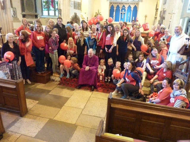 Bishop Robert to support new Brixham sponsored 'crawl' for Christian Aid Week