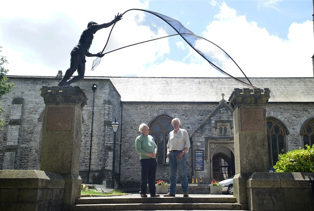 Bishop Nick to dedicate life-sized sculpture at Plymouth church
