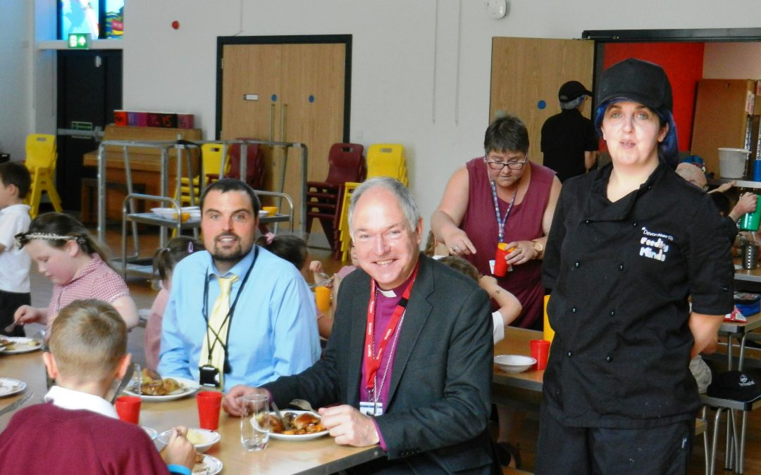 Bishop Robert opens new church Primary School
