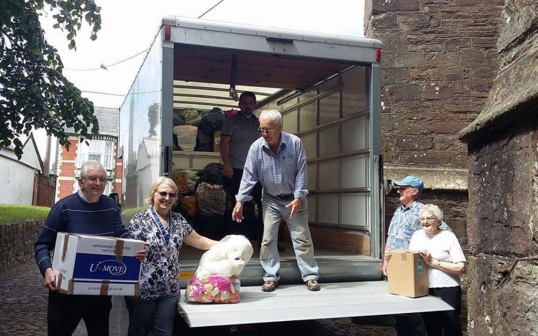 South Molton church at heart of North Devon's relief effort for Grenfell Tower victims