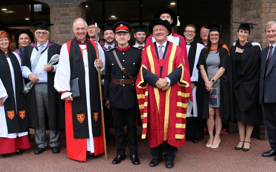 New vice-chancellor installed at Marjon University in Plymouth