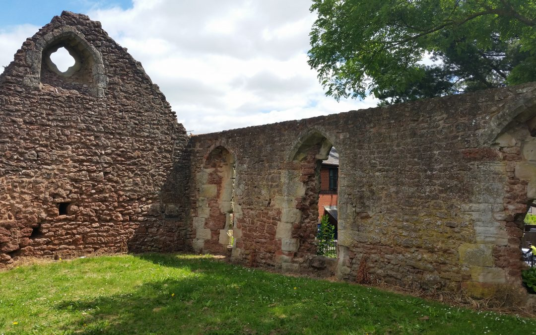 First act of worship for centuries held in ruins of ancient chapel
