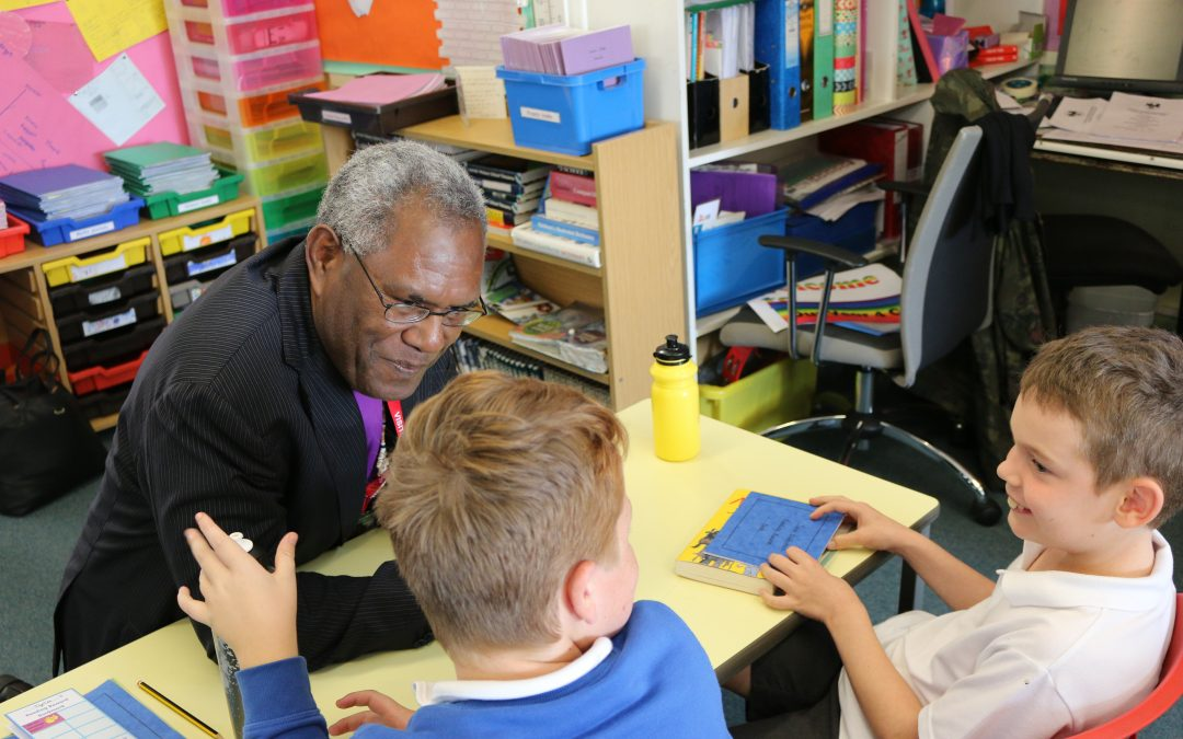 Visit of Melanesian Archbishop to Devon to call for help in climate crisis
