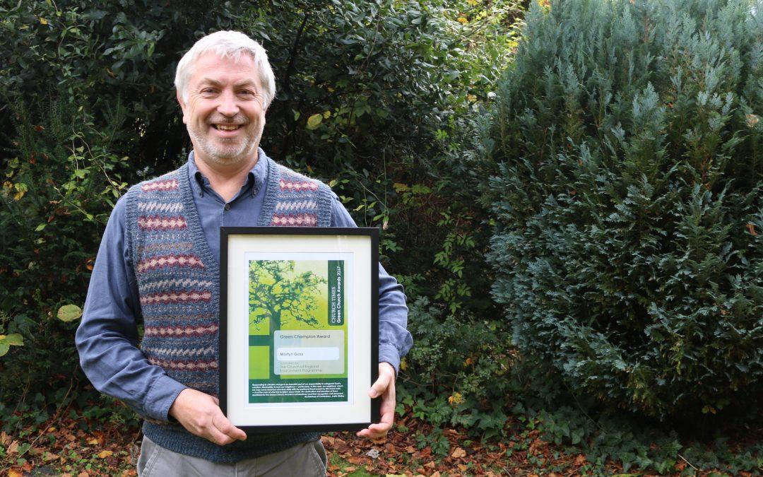 Green Champion Award goes to Martyn Goss