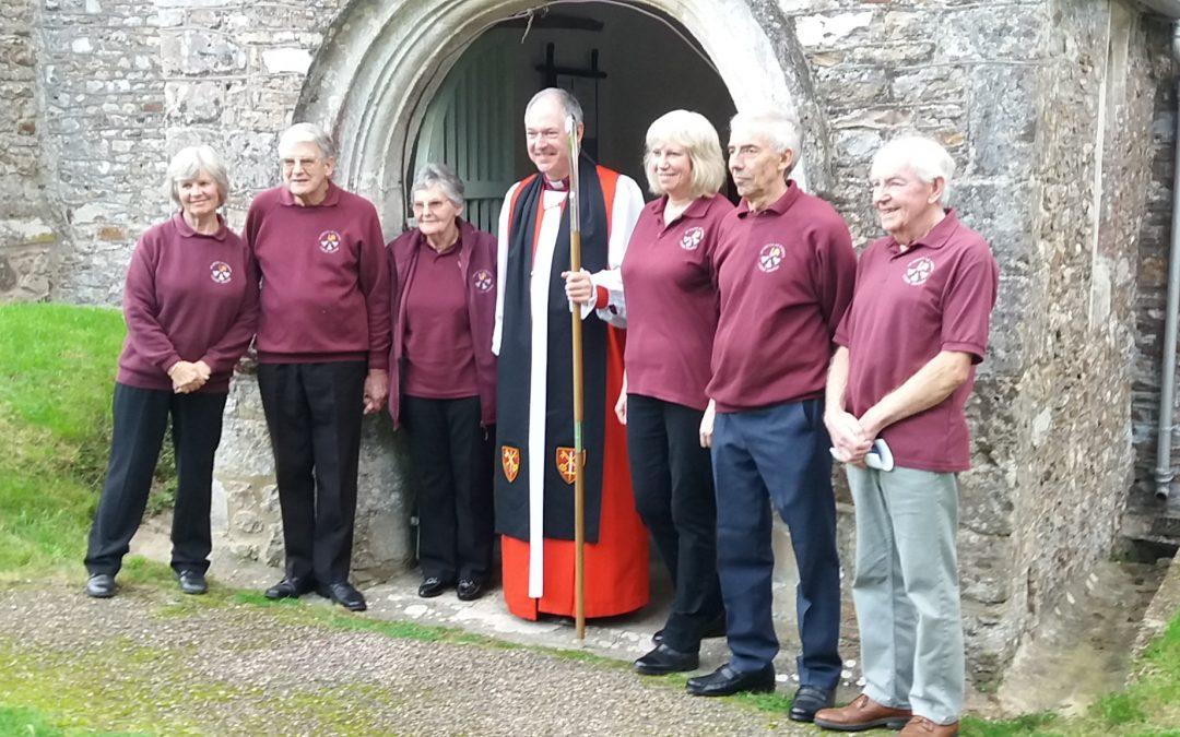 Bishop Robert rededicates St Nicholas Church bells