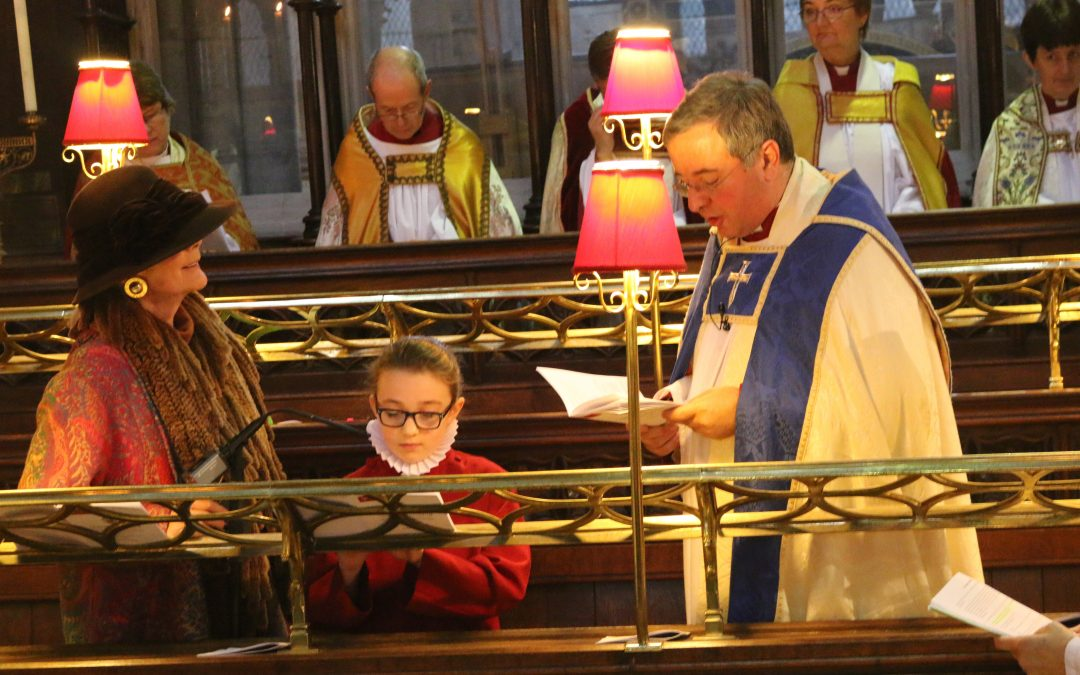 Installation of the 71st Dean of Exeter