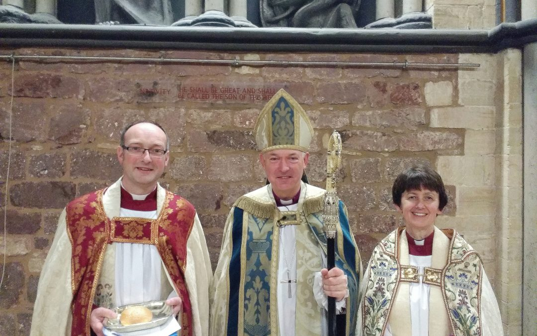 Two new Prebendaries installed at Exeter Cathedral