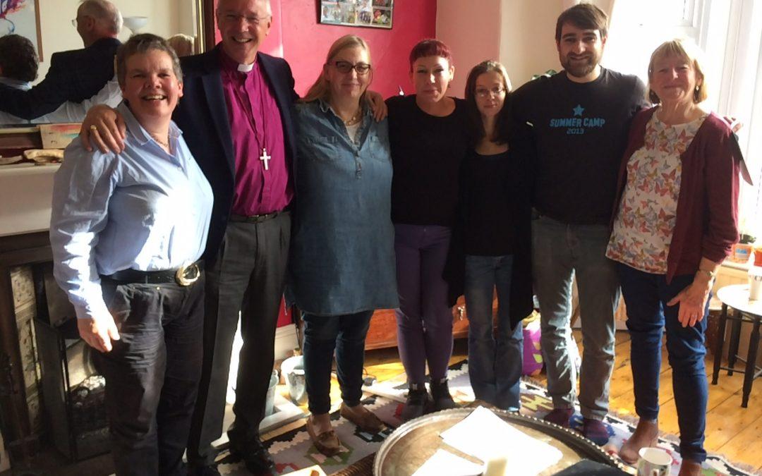 Bishop Nick visits Peninsula Initiative Community Chaplaincy