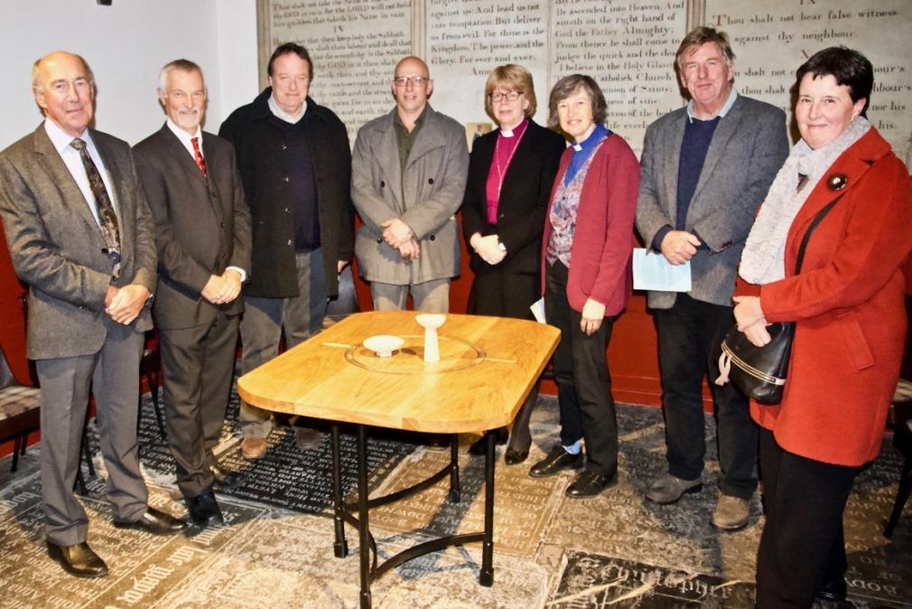 Bishop Sarah re-opens St Petrock's church