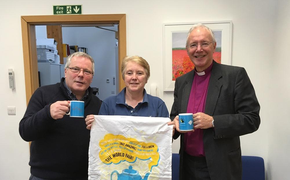 Bishop introduces Fairtrade tea farmers in Fairtrade Fortnight
