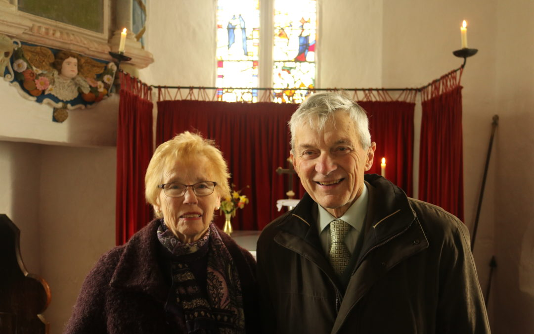 Celebrating 60 years as a churchwarden