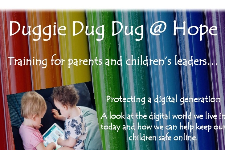 Duggie Dug Dug training for parents and leaders