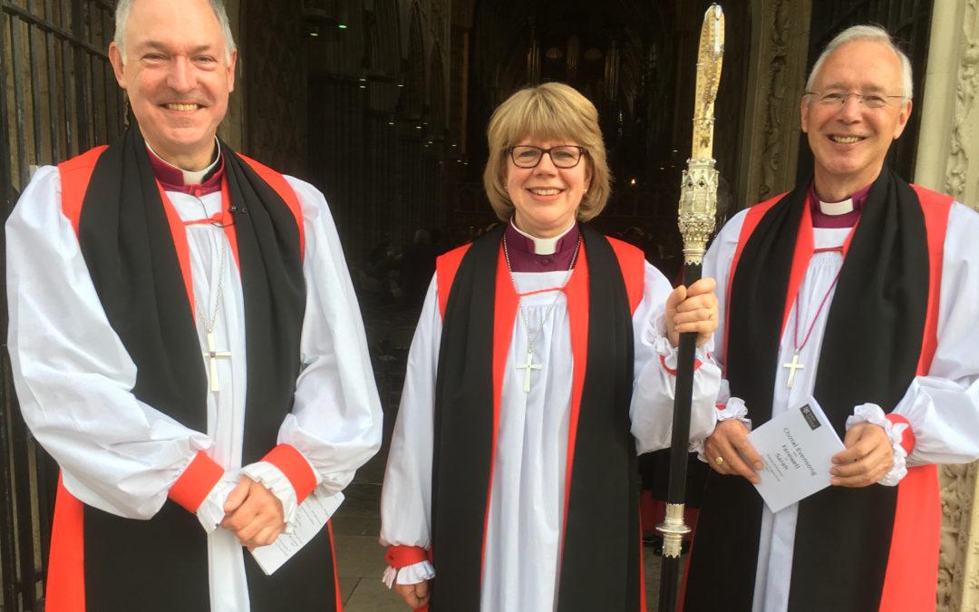 Bishop Sarah's farewell service