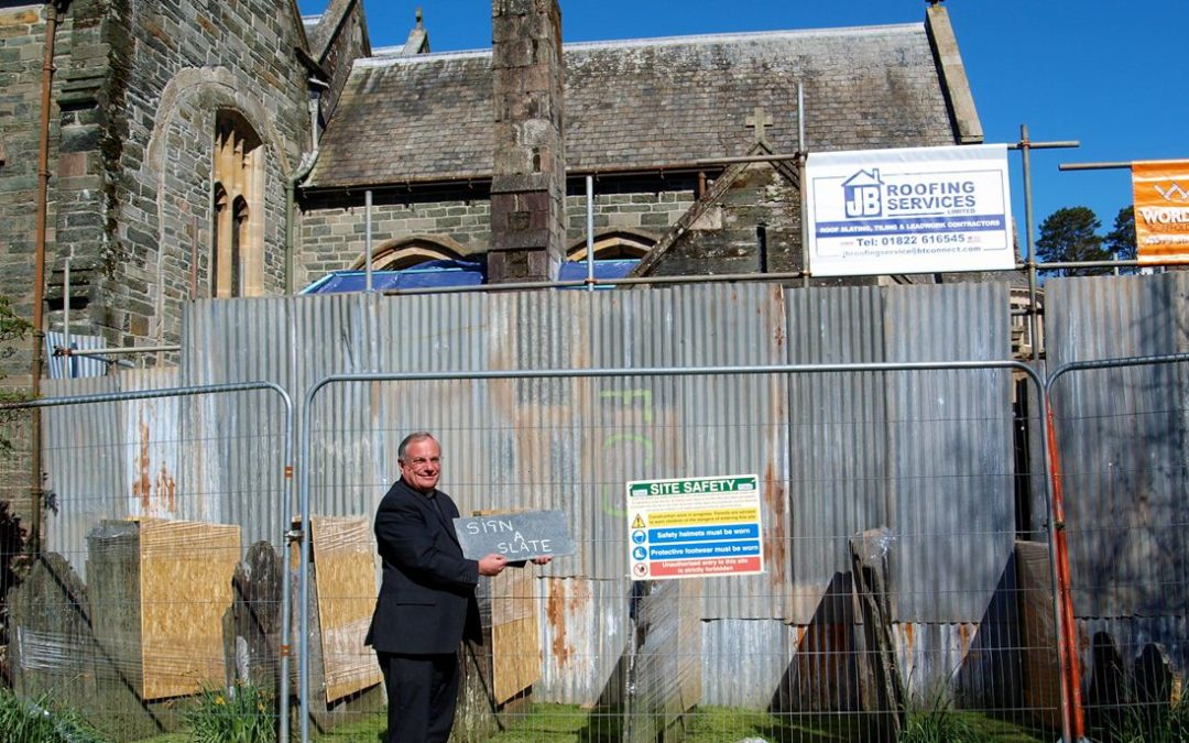 Raise the Roof for Tavistock Parish Church and Make Your Mark for Heritage