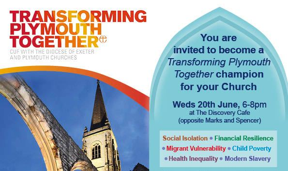 Transforming Plymouth Together Champion for your Church