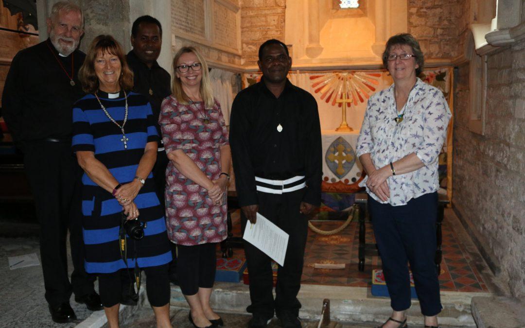 Melanesian Brothers visit Devon