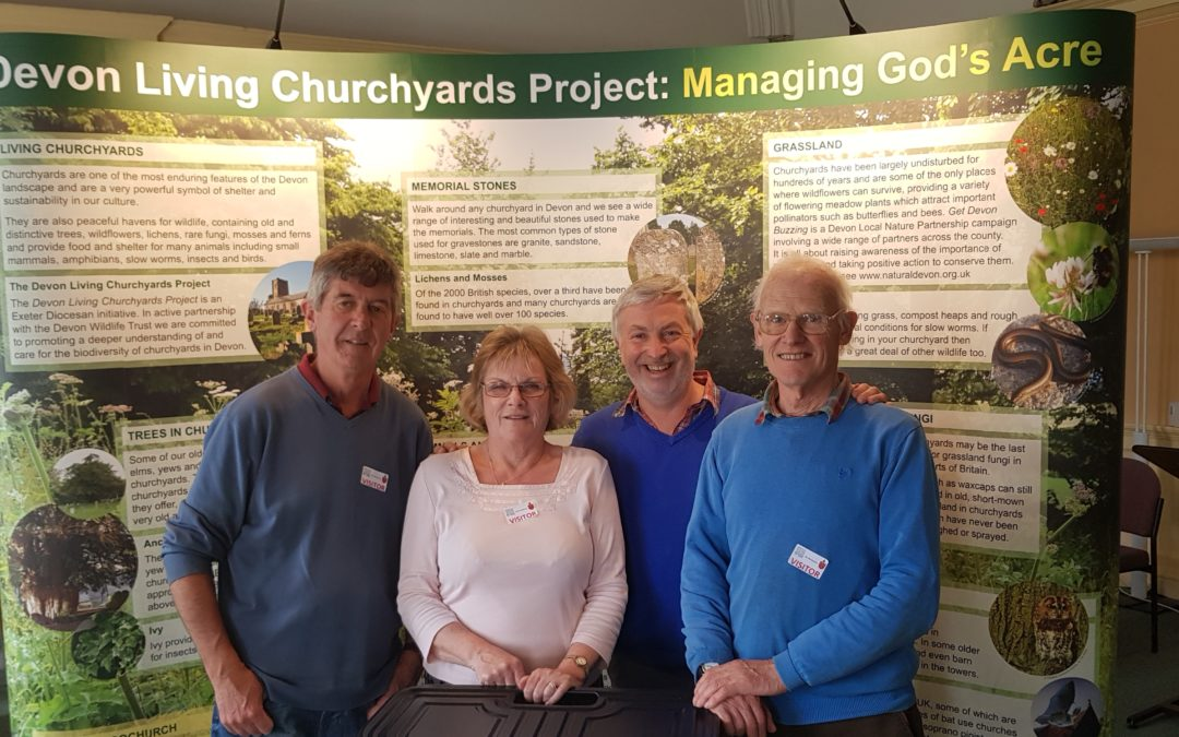 Display on Living Churchyards available for parishes