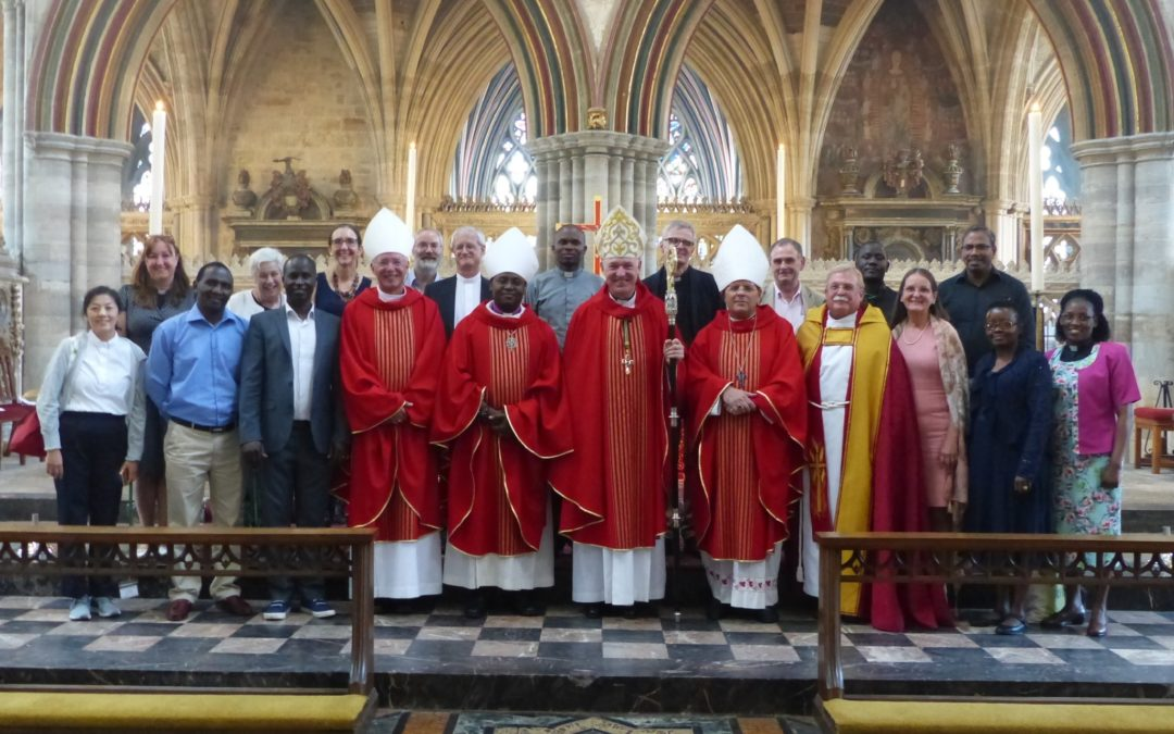 Exeter hosts groups of Anglicans from 'twin' dioceses in Africa and the Middle East