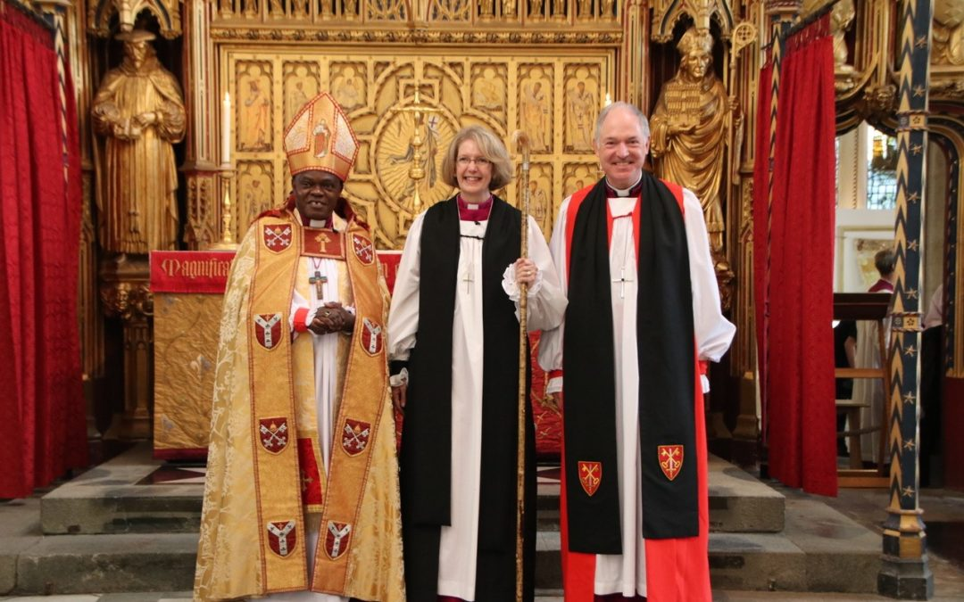 Jackie Searle ordained as bishop today