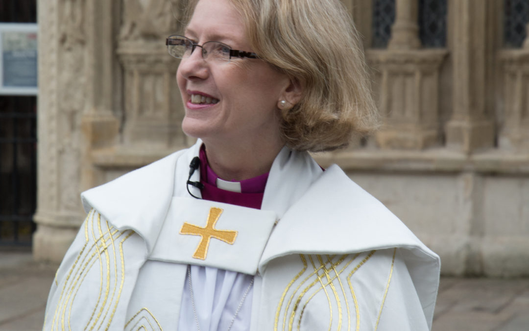 Bishop Jackie looks forward to serving the people of Devon with joy and with hope
