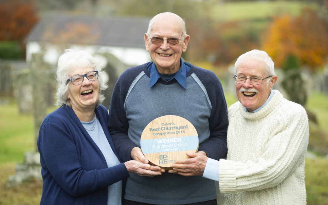CPRE Devon announces winners of its first competition to find Devon's Best Churchyard
