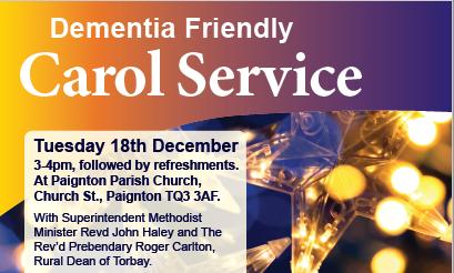 Dementia Friendly Carol Service