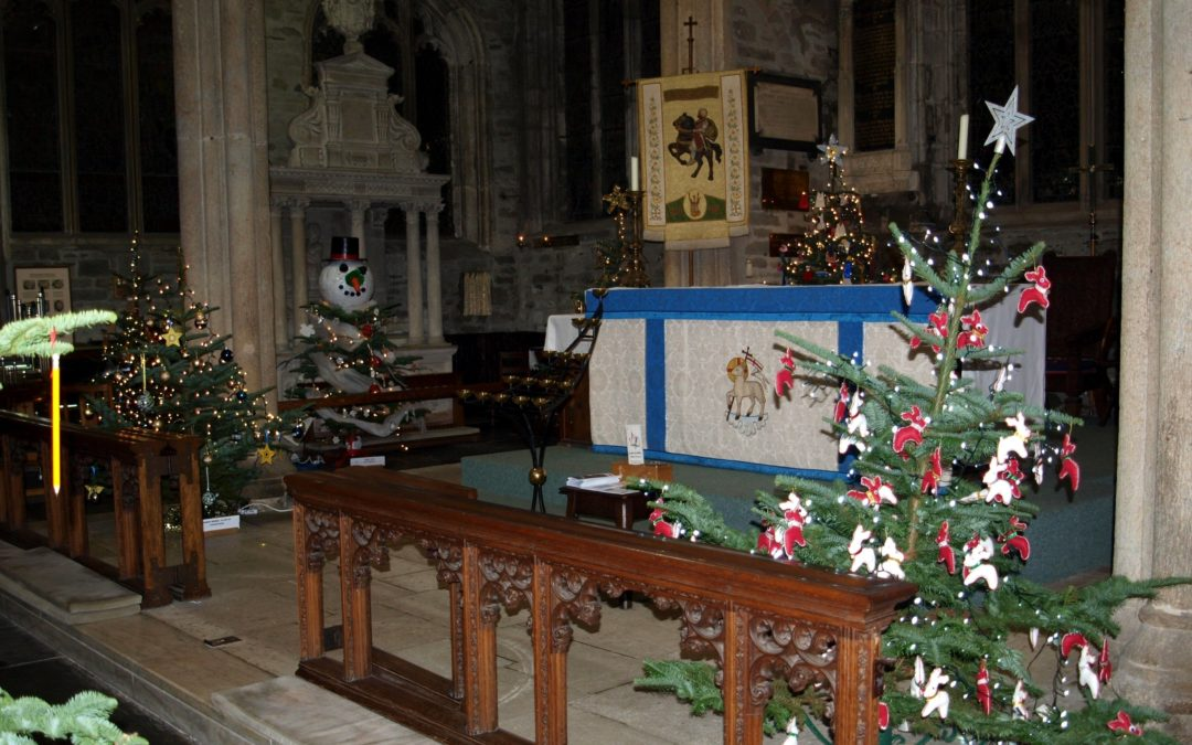 700 Year-old Parish Church Celebrates Tenth Christmas Tree Festival