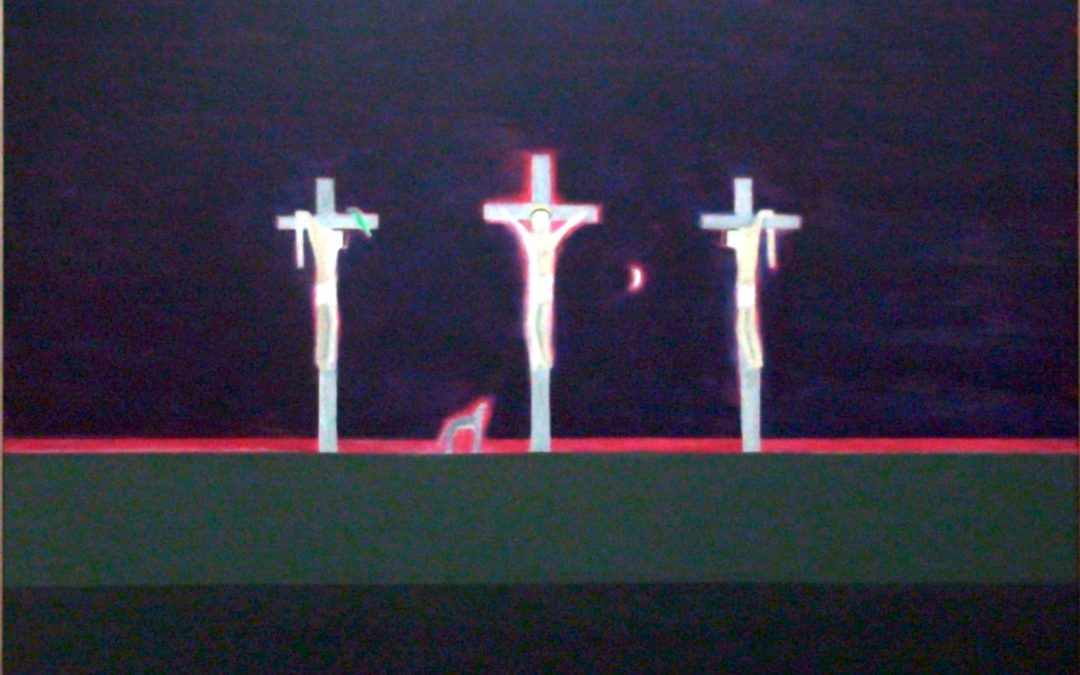 """Child-like"" image of the cross communicates by simplicity"