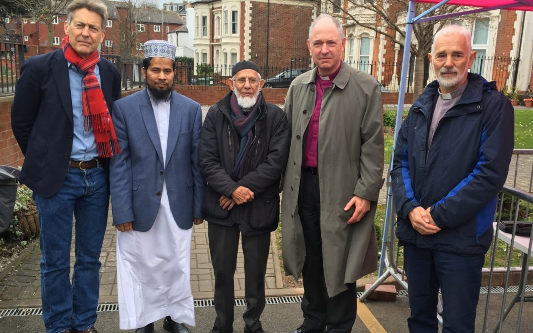 Bishop Robert stands in solidarity with Muslim community following New Zealand mosque shootings