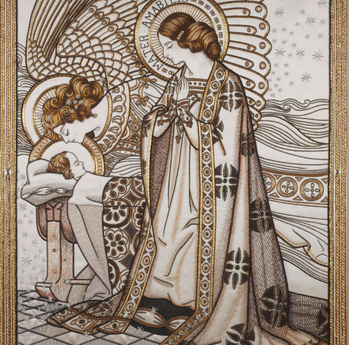 Royal School of Needlework Exhibition: For Worship and Glory
