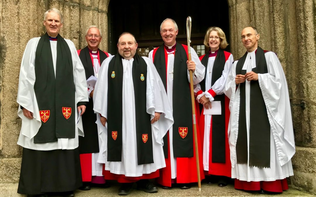Collation of the Venerable Nick Shutt as the new Archdeacon of Plymouth