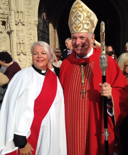 Exeter street procession and special service to celebrate 25th anniversary of the first women priests