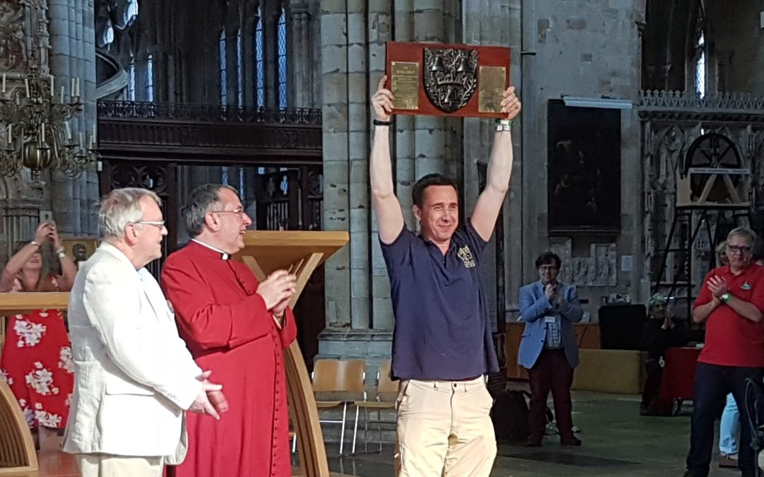 Home win for Exeter Cathedral bell ringers in national competition