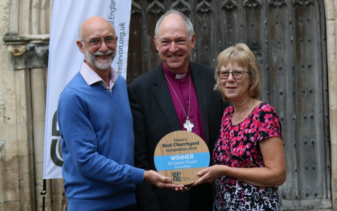 Churchyards praised for encouraging wildlife and biodiversity
