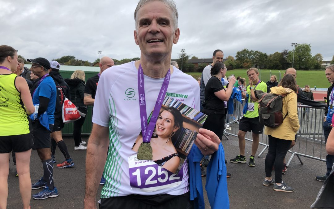 "Reverend runs half marathon as ""act of defiance"" against grief"
