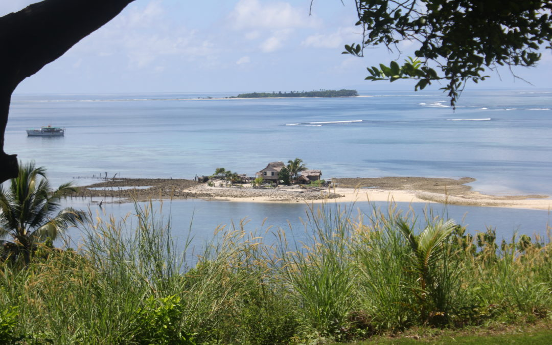 Priests become scientists on disappearing islands affected by climate change