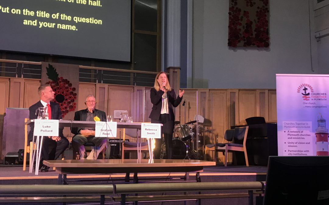 Devon's churches and cathedral offer a 'service to democracy' by hosting hustings