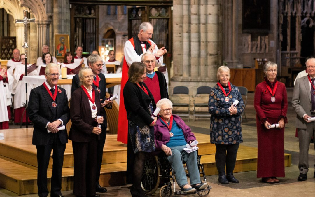 Celebrating the unsung heroes and heroines of Devon's church communities