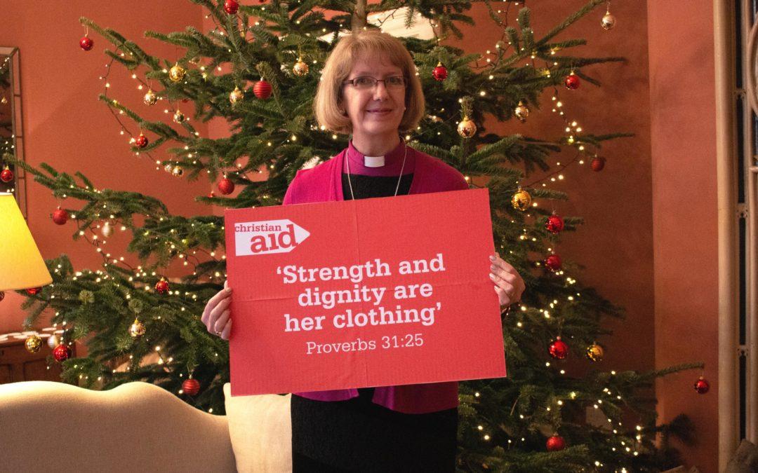 Bishop Jackie backs Christmas appeal to help women thrive