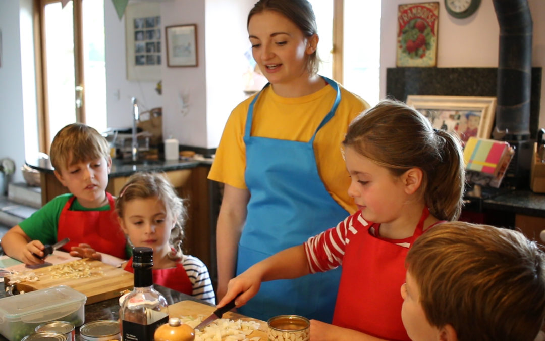 New Family Fun Cooking Club launched to help families eat well and cook together